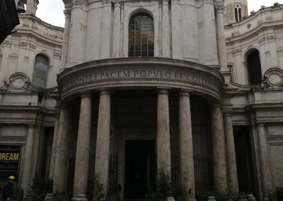 Roma Santa Maria della Pace Impianto audio