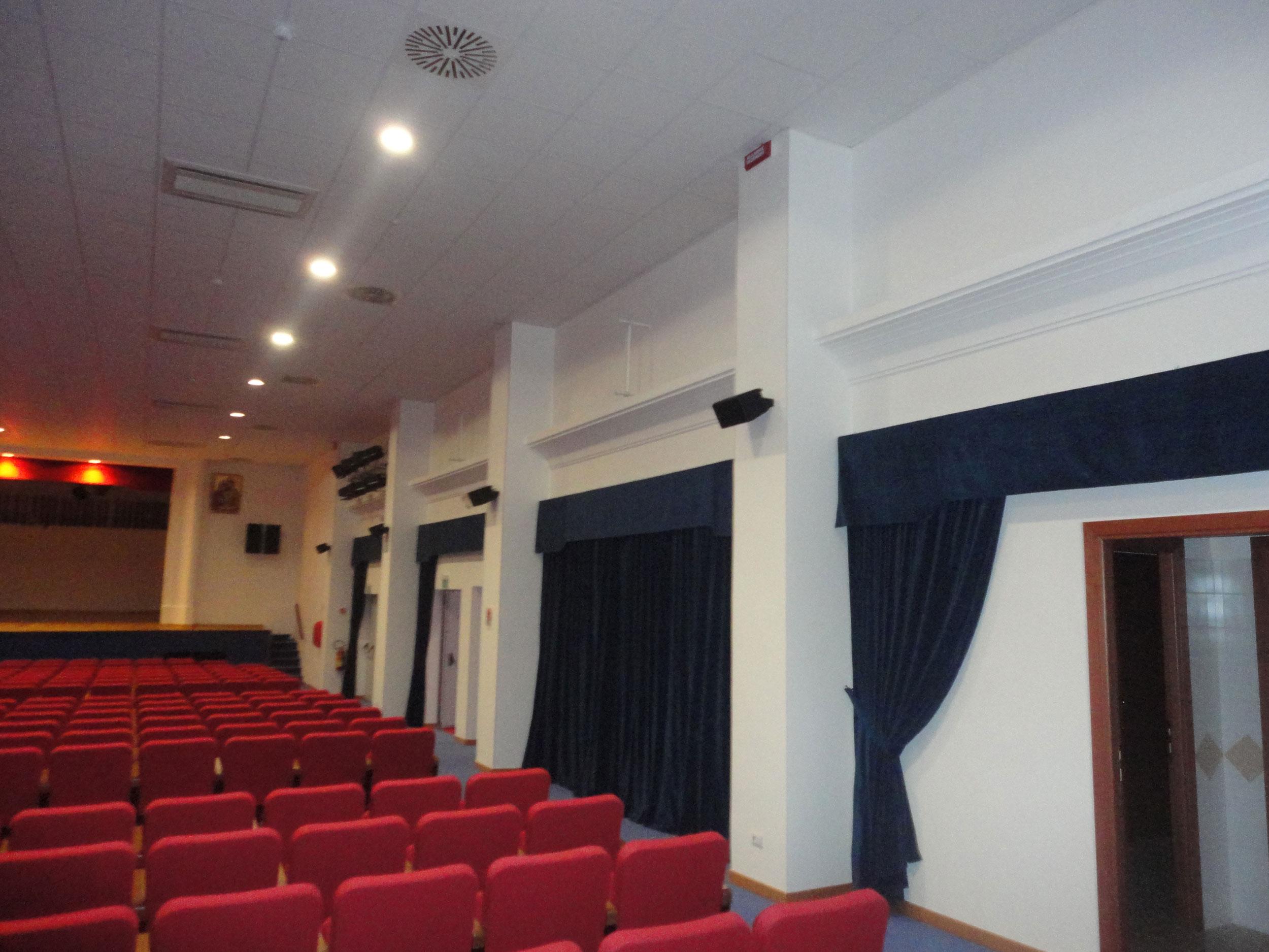 Videoproiezione audio oratori e sale